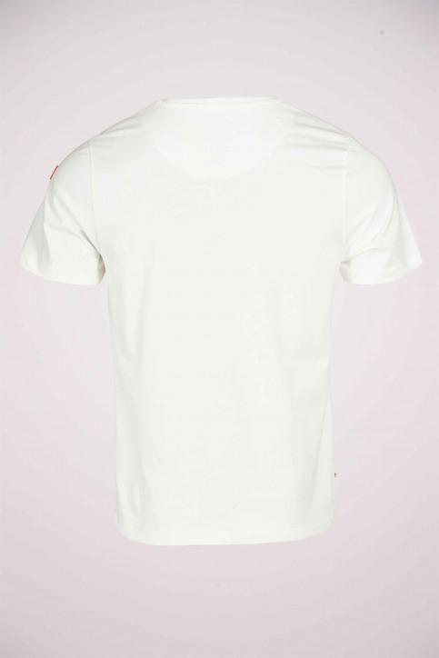 Cyclo Club Marcel T-shirts (korte mouwen) wit CCM211MT 010_VANILLA img5