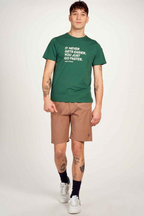 Cyclo Club Marcel T-shirts (korte mouwen) groen CCM211MT 012_POSY GREEN img2