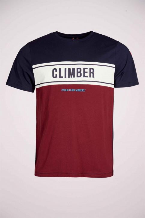Cyclo Club Marcel T-shirts (korte mouwen) blauw CCM211MT 013_NAVY BLAZER img3