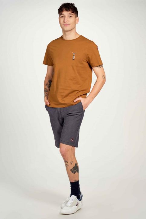Cyclo Club Marcel T-shirts (korte mouwen) bruin CCM211MT 014_RUBBER img1