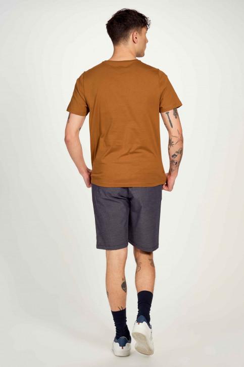 Cyclo Club Marcel T-shirts (korte mouwen) bruin CCM211MT 014_RUBBER img2