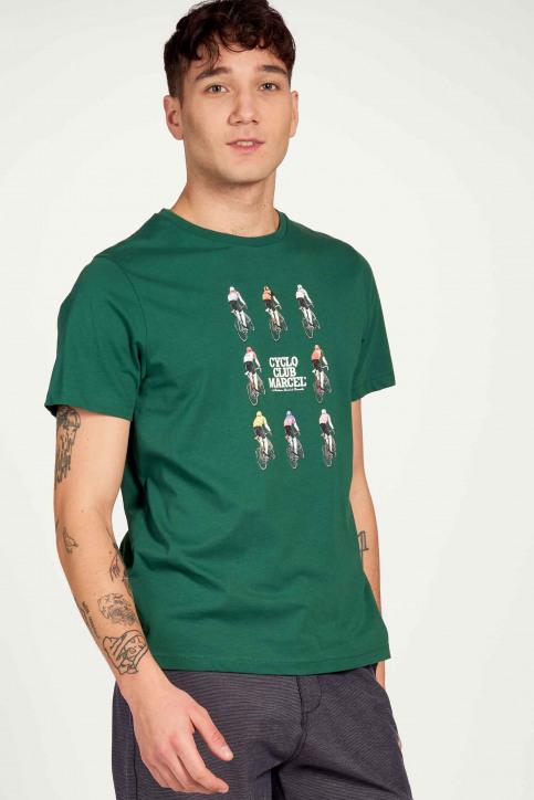 Cyclo Club Marcel T-shirts (korte mouwen) groen CCM211MT 017_POSY GREEN img2