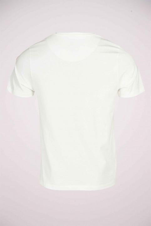Cyclo Club Marcel T-shirts (korte mouwen) wit CCM211MT 018_VANILLA img3