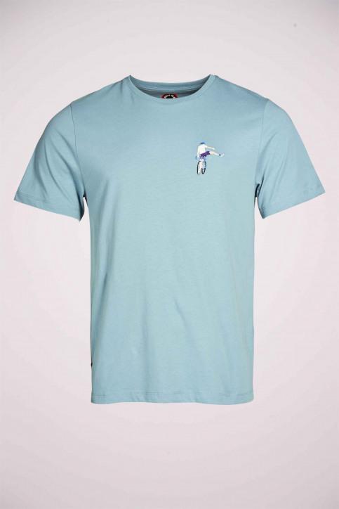 Cyclo Club Marcel T-shirts (korte mouwen) blauw CCM211MT 019_CITADELLE img3