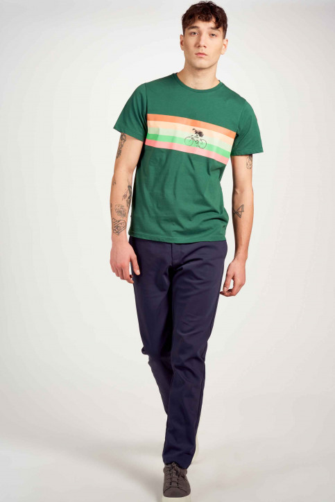 Cyclo Club Marcel T-shirts (korte mouwen) groen CCM211MT 023_POSY GREEN img1
