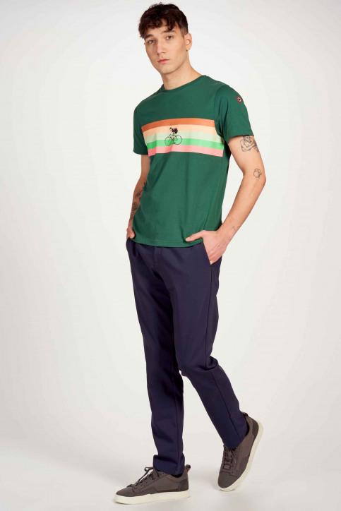 Cyclo Club Marcel T-shirts (korte mouwen) groen CCM211MT 023_POSY GREEN img2