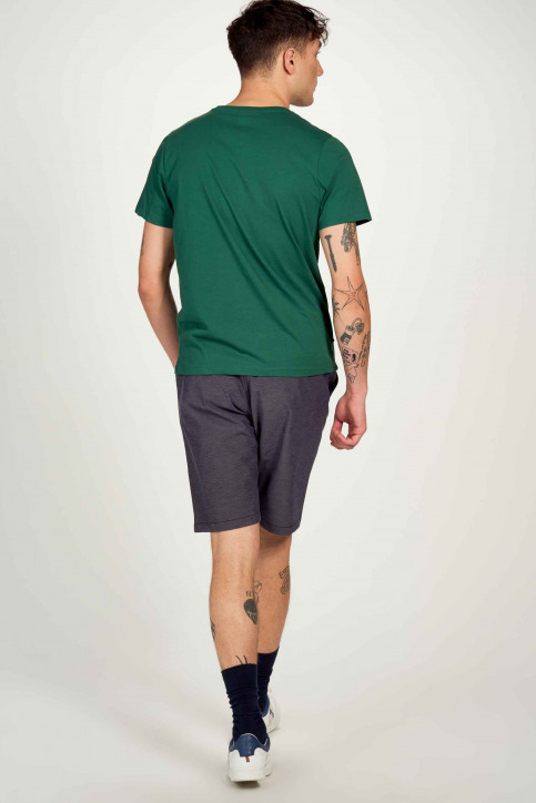 Cyclo Club Marcel T-shirts (korte mouwen) groen CCM211MT 023_POSY GREEN img4