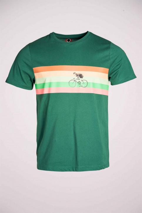 Cyclo Club Marcel T-shirts (korte mouwen) groen CCM211MT 023_POSY GREEN img5
