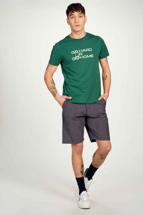 Cyclo Club Marcel T-shirts (korte mouwen) groen CCM211MT 024_POSY GREEN img2