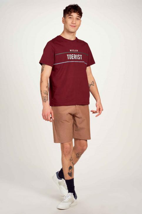 Cyclo Club Marcel T-shirts (korte mouwen) bordeaux CCM211MT 025_ZINFANDEL img1