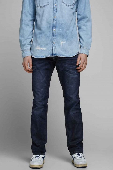 JACK & JONES JEANS INTELLIGENC Jeans straight denim CLARK ORIGINAL VINT_JOS 318 img2
