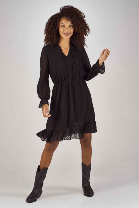 Clouds Of Fashion Robes courtes noir COF192WT 013_JET BLACK img2