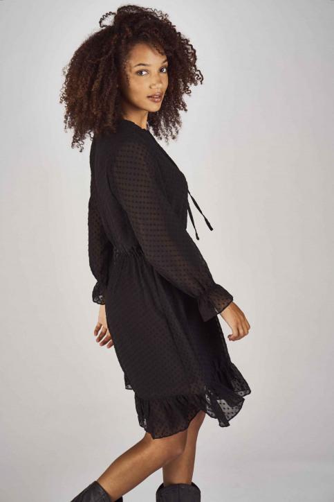 Clouds Of Fashion Robes courtes noir COF192WT 013_JET BLACK img3
