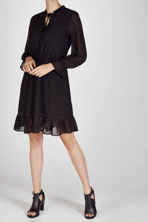 Clouds Of Fashion Robes courtes noir COF192WT 013_JET BLACK img8