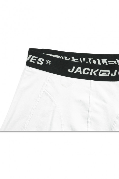 CORE BY JACK & JONES Boxers blanc CONTACT TRUNKS_WHITE img3
