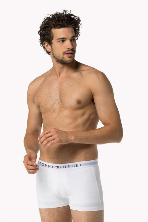 Tommy Jeans Boxers wit COTTON TRUNK ICON_100WHITE img3