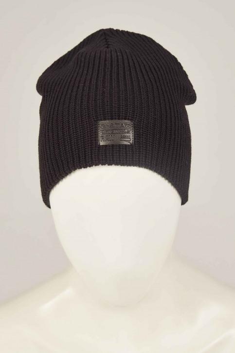 G-Star RAW Bonnets noir D036608529_BLACK img1