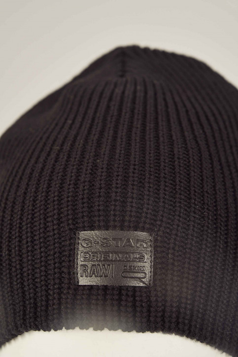 G-Star RAW Bonnets noir D036608529_BLACK img2