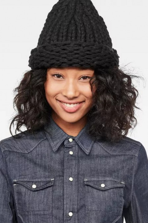 G-Star RAW Bonnets noir D054969033_BLACK img1