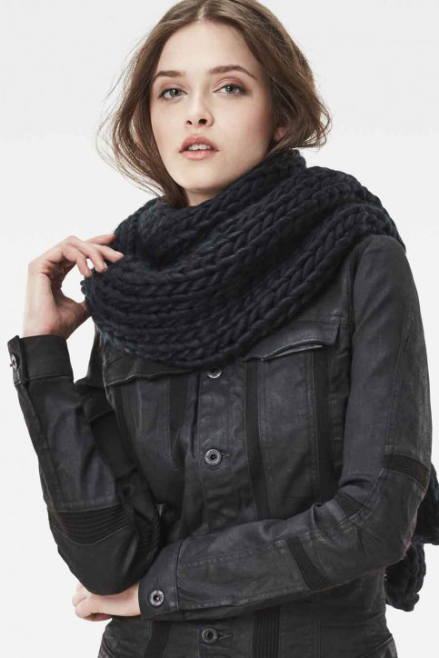G-Star RAW Wintersjaals zwart D054979033_BLACK img1