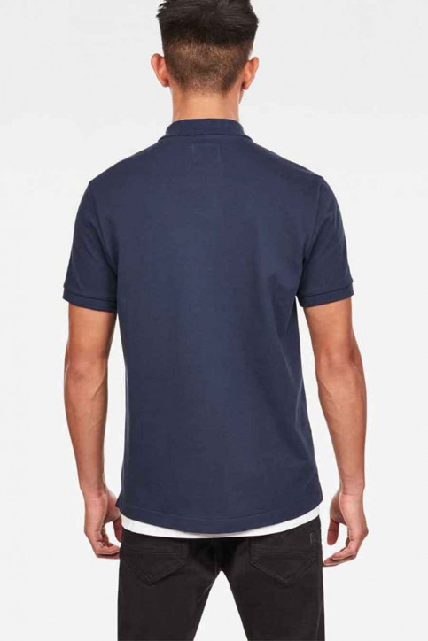 G-Star RAW Polo's denim D1159558646067_6067 SARTHO BLU img2