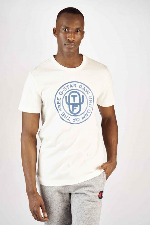 G-Star RAW T-shirts (manches courtes) blanc D12895336111_111 MILK img1