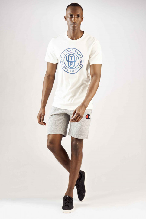 G-Star RAW T-shirts (manches courtes) blanc D12895336111_111 MILK img2