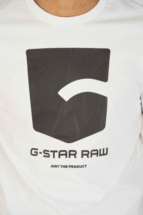G-Star RAW T-shirts (manches courtes) blanc D133424561110_WHITE 110 img4