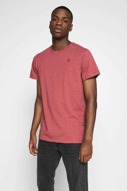 G-Star RAW T-shirts (manches courtes) rose D164113366072_6072 DRY RED HT img1