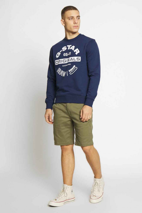 G-Star RAW Sweaters met ronde hals zwart D16466A612_1305 IMPERIAL B img2