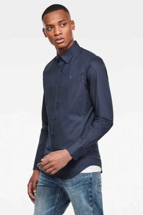 G-Star RAW Chemises (manches longues) bleu D17026C2714213_4213 MAZAR BLUE img2