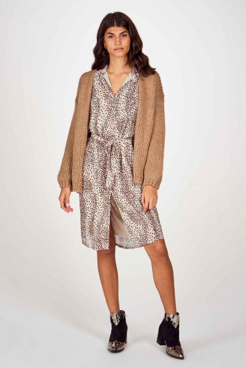 BELLITA Robes courtes écru DARCIE_P02 PRINT ECRU img2