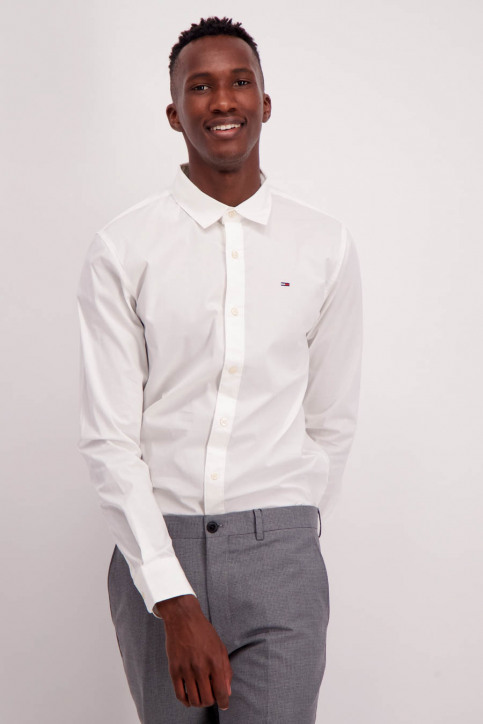 Tommy Jeans Chemises (manches longues) blanc DM0DM04405100_100CLASSIC WHI img1