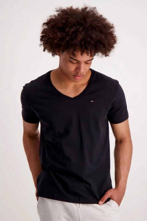 Tommy Jeans T-shirts (manches courtes) noir DM0DM04410078_078TOMMY BLACK img1