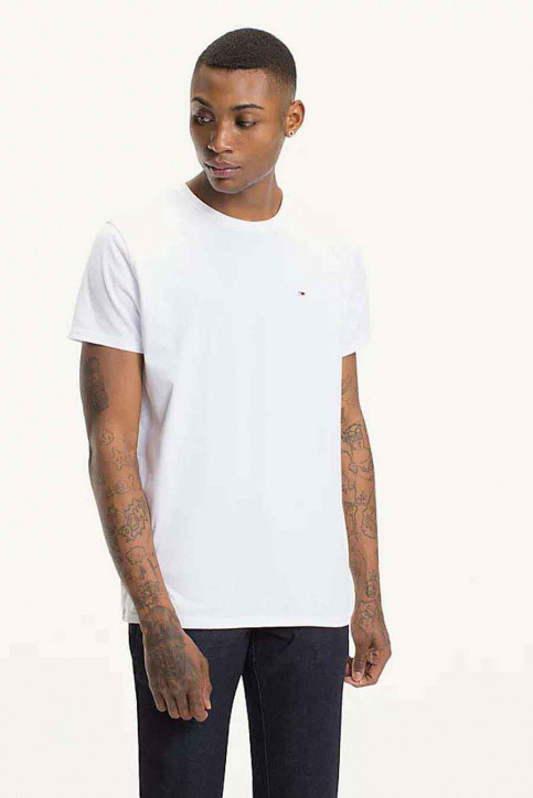 Tommy Hilfiger T-shirts (korte mouwen) wit DM0DM04411100_100CLASSIC WHI img1