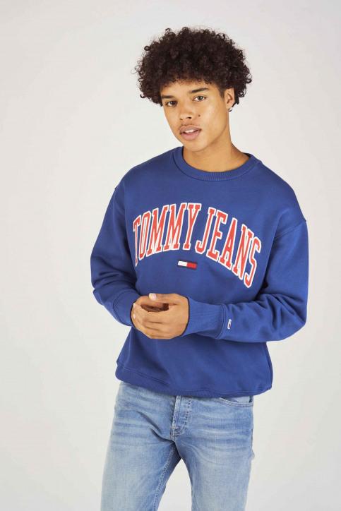 Tommy Jeans Sweats col O bleu DM0DM05945434_434 LIMOGES img1
