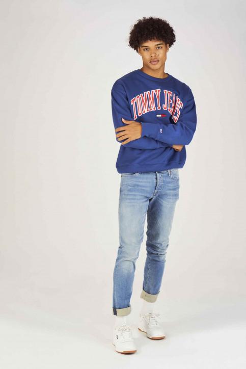 Tommy Jeans Sweats col O bleu DM0DM05945434_434 LIMOGES img2