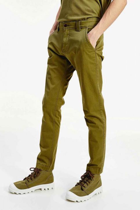 Tommy Jeans Chino's groen DM0DM06518L8Q_L8Q UNIFORM OLI img1