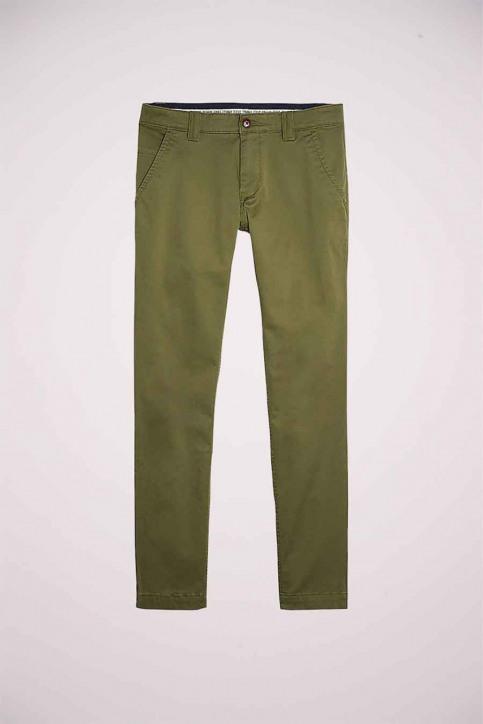 Tommy Jeans Chino's groen DM0DM06518L8Q_L8Q UNIFORM OLI img5