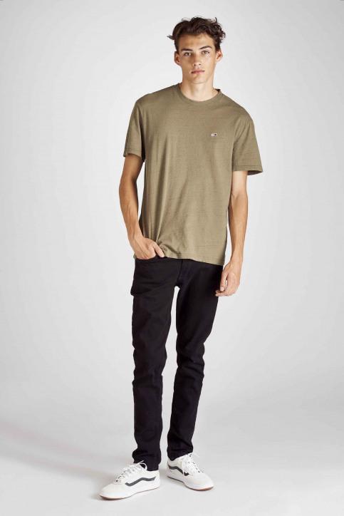 Tommy Jeans T-shirts (korte mouwen) groen DM0DM06540_307 OLIVE NIGHT img2