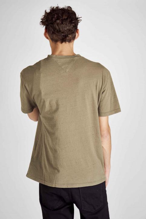 Tommy Jeans T-shirts (korte mouwen) groen DM0DM06540_307 OLIVE NIGHT img3