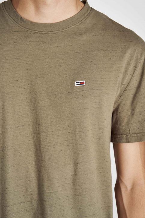Tommy Jeans T-shirts (korte mouwen) groen DM0DM06540_307 OLIVE NIGHT img4