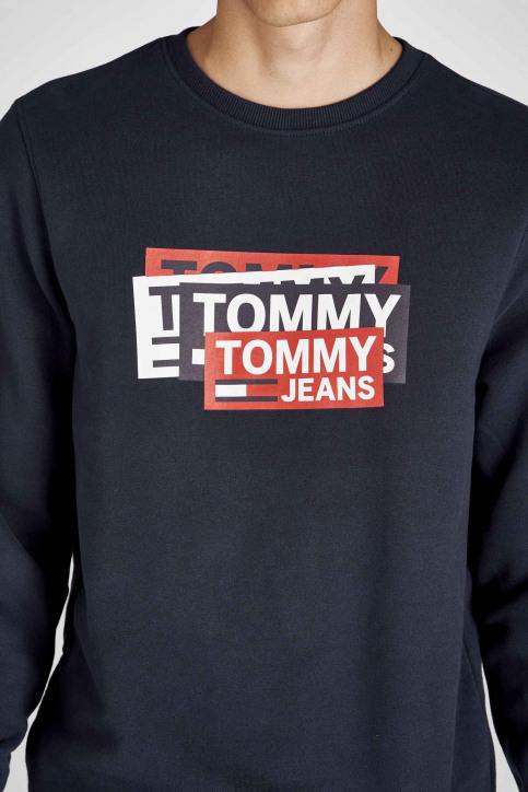 Tommy Jeans Sweaters met ronde hals blauw DM0DM06589_002 BLACK IRIS img4