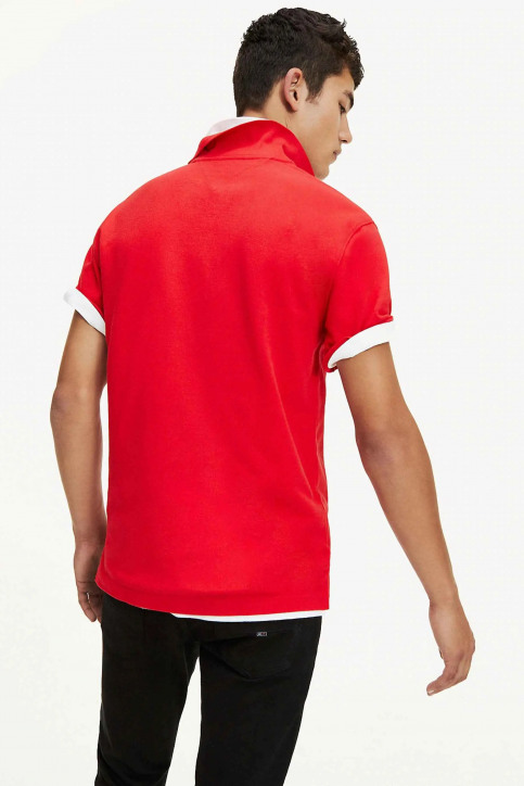 Tommy Jeans Polos rouge DM0DM07456_XA9 RACING RED img3