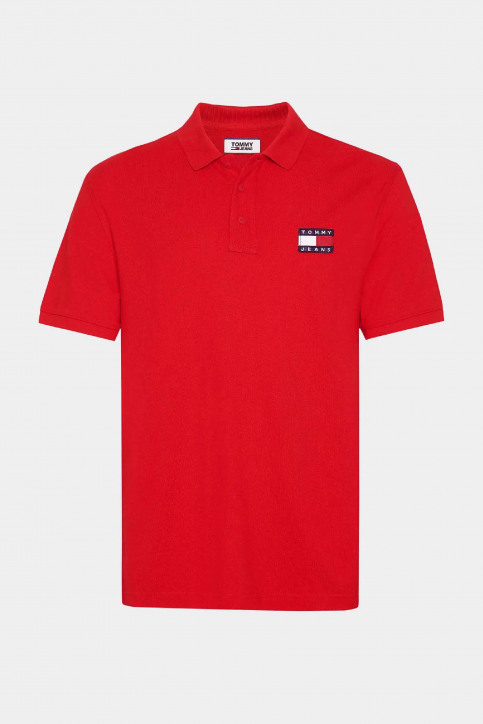 Tommy Jeans Polos rouge DM0DM07456_XA9 RACING RED img5