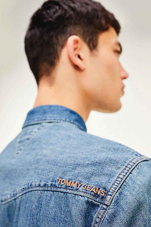 Tommy Hilfiger Hemden (lange mouwen) denim DM0DM084021A5_1A5 MID INDIGO img4
