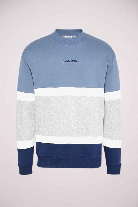 Tommy Jeans Sweaters met kap blauw DM0DM08404C0Z_COZ FADED INK img5