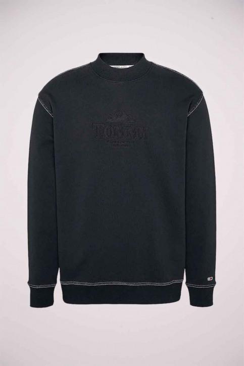 Sweaters met ronde hals zwart DM0DM08722BDS_BDS BLACK img5