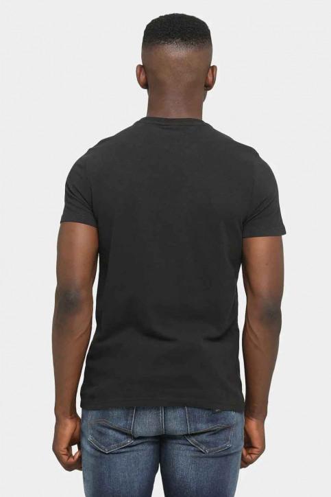 Tommy Jeans T-shirts (korte mouwen) zwart DM0DM08788BDS_BDS BLACK img3