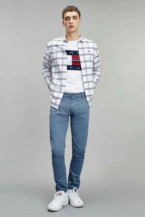 Tommy Jeans T-shirts (korte mouwen) wit DM0DM08791YBR_YBR WHITE img1
